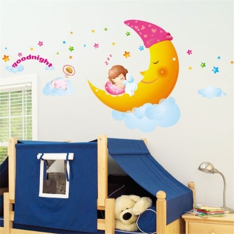 Baixuegongzhu princess room girl's room decorative wall sticker