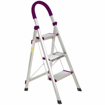 Bandeshang Aluminum Multi-Purpose Step Ladder (3 Steps)
