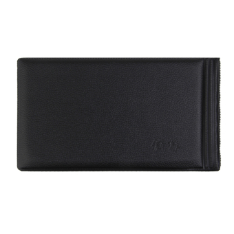 Banknote Currency Collection Album Paper Money Pocket Holders 30 Pages Black - 2