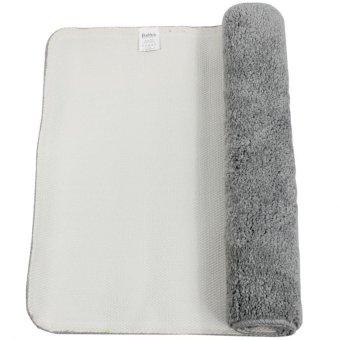 Bathlux Non slip Soft Absorbent Floor Mat Door Mat Bath Mat (Grey) - 2