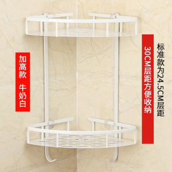 Bathroom toilet space aluminum bathroom shelf