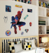 Batman cartoon kindergarten children's room boy's bedside backdrop wall sticker