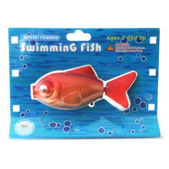 Battery Powered Swimming Red Gold Fish Water Toy Price Philippines