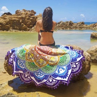 Beach Towel Mandala (LOTUS VIOLET) Price Philippines