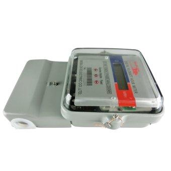BEBLOS SY-168 Digital 240V Kilowatt Hour Meter (Gray) - 2