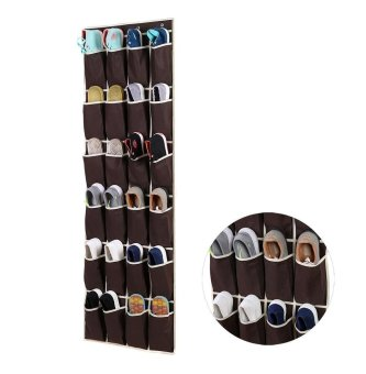 Bedroom room slippers organizing rack bag storage hanging bag