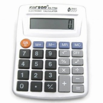 Beemo-NT Karson KS-776A Electronic Calculator 8 Digits Key Tone(Silver)