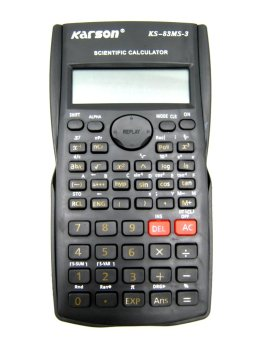 Beemo-NT Karson Scientific Calculator (Black) with FREE 4 AAABattery - 2