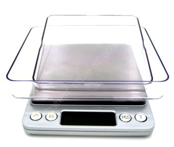 Beemo-NT Multi Purpose Kitchen Jewelry Digital Scale LCD Display2000g Capacity 4x4 Platform