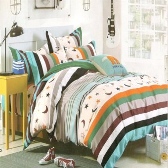 Beverly's Special Linen Collection Set of 3Bedsheet(BBL-020)Full(Double)