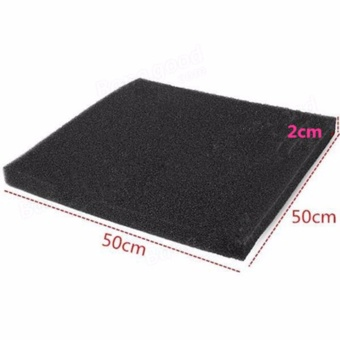 Bio-Pads Media Biochemical Foam Block Aquarium Filter Sponge TankBlack (50 * 50 cm Big hole) - intl Price Philippines