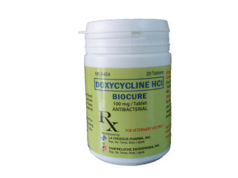 Biocure Doxycycline HCI Antibacterial Cat Dog Tablets