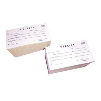 Blank Receipt Set of 20 Lazada PH