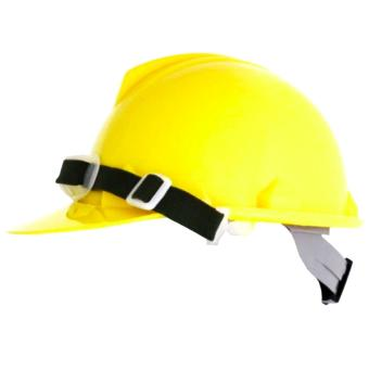 Blue Eagle Construction Safety Helmet / Hard Hat for HeadProtection with FREE CHINSTRAP INCLUDED (Yellow)