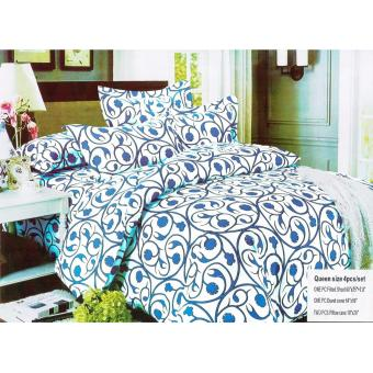BM US Cotton 4ni1 bedsheet Excellent quality Bedding set Queen size