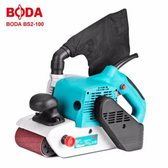 BODA BS2-100 1400W Electric Belt Polishing Grinding Sander Machine (Blue)