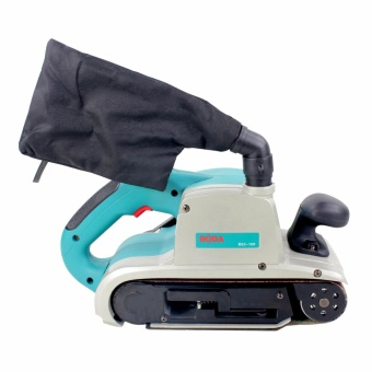 BODA BS2-100 1400W Electric Belt Polishing Grinding Sander Machine (Blue) - 3