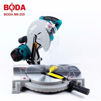 BODA M8-255 HEAVY DUTY 255mm Aluminum / Wood Cutter Miter Saw (Blue)