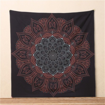 Bohemian Square Wall Hanging Tapestry Beach Picnic Rug Blanket