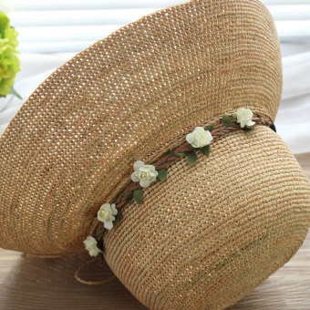 Bohemian style seaside model hair bands floral headdress