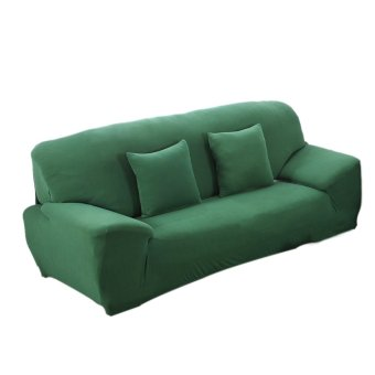 BolehDeals Spandex Stretch Lounge Sofa Couch Seat Cover Slipcover Case Home Decor Green