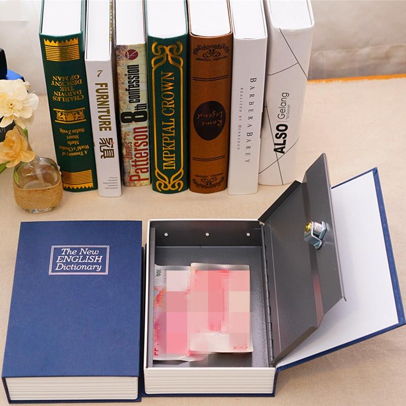 Baffect 24166cm Secret Code Safe Box Dictionary Book Safety Deposit Source Book Storage .