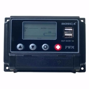 Bosca St-W 1220 20A Intelligent Solar Charge Controller (Black) #0124
