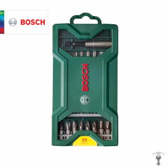 Bosch 2607019676 25 pieces Screwdriver Bit Mini X-Line Set