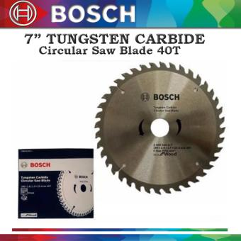 "Bosch 7"" Tungsten Carbide Circular Saw Blade 40T 2608644317 Price Philippines"