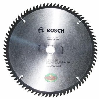 "Bosch ECO Circular Saw Blade 10""x80T Price Philippines"