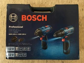 Bosch GDR GSR 120 Combo Kit