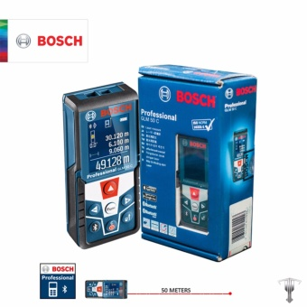 Bosch GLM 50 C Professional 50 M Laser Rangefinder with Bluetooth Measuring Tool