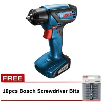 Bosch GSR 1000 Professional Cordless Drill with FREEScrewdriverBits (Coral)