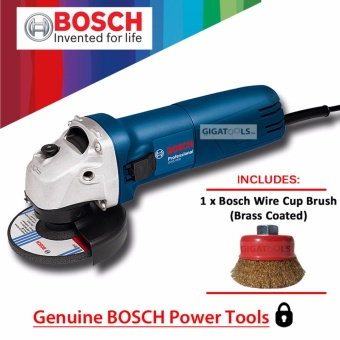 "Bosch GWS 060 Angle Grinder 4"" (670W) with Bosch Wire Cup Brush(Brass Coated) Price Philippines"