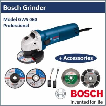 Bosch Professional, Grinder, GWS 060 with 5 Accessories Price Philippines