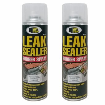 Bosny Leak Sealer (Clear) 600 cc 2 Cans Price Philippines