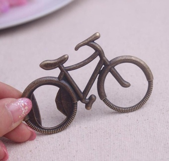 Bottle Opener Bicycle Shape Alloy Tool Wedding Party Gift Souvenirs - intl