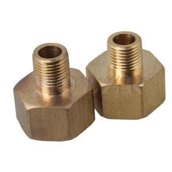 Brass Inside Outside Connect Copper Joints Set of 2 (Gold) - picture 2