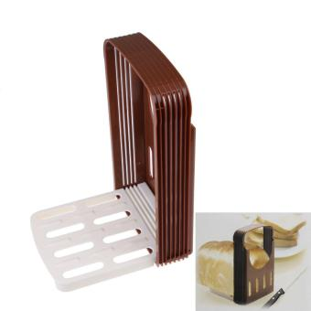 Bread Cut Loaf Toast Slicer Cutter Cutting Slice Slicing GuideKitchen Tool (Intl)