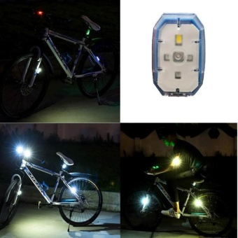 Bright Outdoors LED Bicycle Safety Light Flashlight Ideal for Ru Bike light - intl