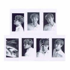 BTS Bangtan Boys WINGS Seoul Concert Album Photo Card KPOP SelfMade Paper Cards Autograph Photocard -