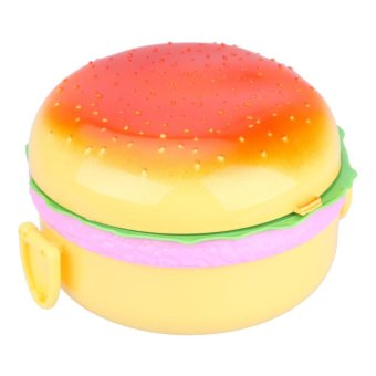 Burger Boxes Double Plastic Insulation Box Lunch Box Lunch Box -intl Price Philippines