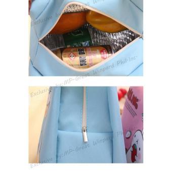 Buy 1 FREE 1 Korean Home Style LB-002 Portable Lunch Bags AnimalCartoon Printed Ice Bag Hand Carry Bag - 5