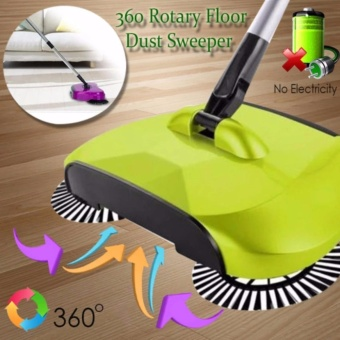 Buy One Take One 360 Degree Home Cleaning Tools Wireless handheldSweeper Broom Mop - 2