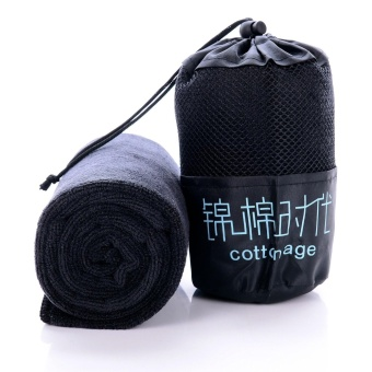 Buy1 Take 1 Quick-drying Microfiber Sports Towel SuperHygroscopicity Fitness Towel - intl