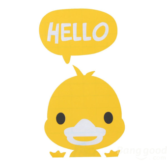 Buytra Switch Sticker Hello Duck Removable Art Vinyl