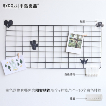 Bydoll wrought iron shelf iron rack photo wall