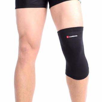 CAMEWIN Brand Knee Support Protector Prevent Arthritis Injury HighElastic Knee pad Sports Outdoor Knee Guard Keep Warm (Small)