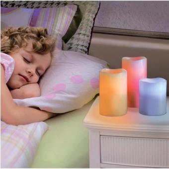 Candles Flameless Changing LED Light with Remote Control Timer