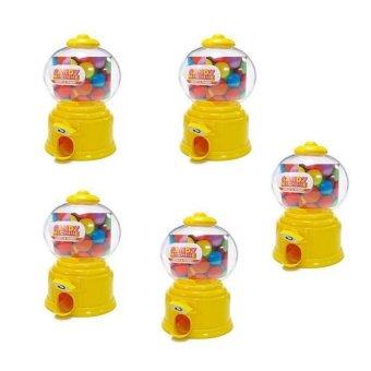 Candy Machine Set of 5 (Yellow)